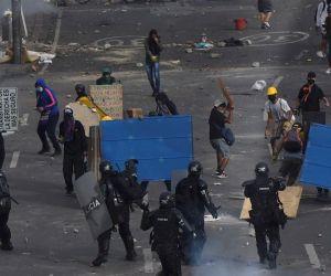 Disturbios en el país - referencia.
