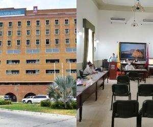Los tres diputados de la 'minoría' cuestionaron a la administración del 'Julio Méndez'.