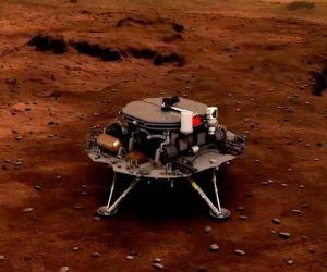 Tianwen-1 amartizó en el planeta rojo.