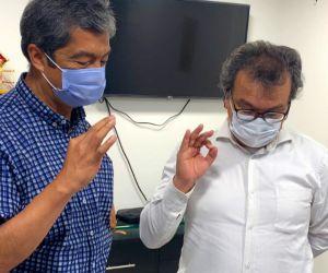 El Médico Cirujano Hernando Macias Aros, asume desde este martes como nuevo interventor.
