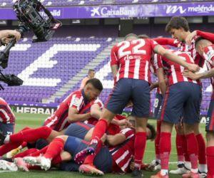 El Atlético se quedó con la Liga.