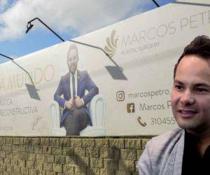 Marcos Petro fue le cirujano plástico que atendió a Deixy Urquiola.