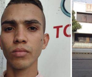 José Barrios, joven sindicado de asesinato a Policía.