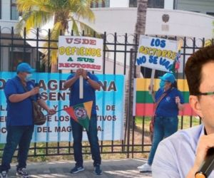 Protesta de rectores