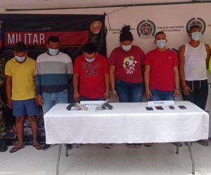 Fue desarticulado el Grupo Delincuencial Común Organizado 'Los Chimila'.