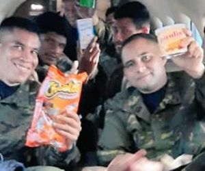 Militares liberados.