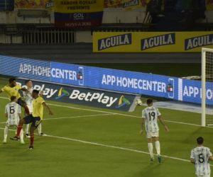 Momento en que Borja marcó el empate.