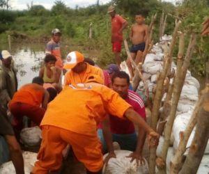 Crecientes súbitas en ríos tienen en alerta a El Banco.