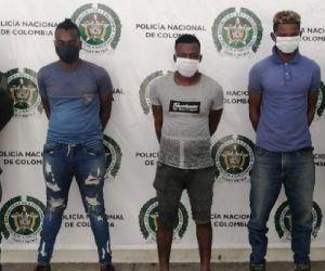 Donard Angulo Solís, Paulo Luis Cabezas Montaño y Carlos Castro Santana