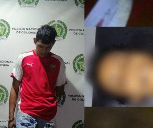 Sugeinis Bertiz Muñoz y Andrés Llanos García - cuerpo de la víctima.