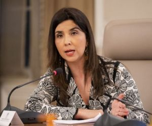 Ministra de Educación, María Victoria Angulo.