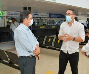 Ernesto Mario Castro estuvo durante ocho meses al frente de la Terminal de Transporte.