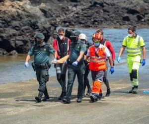 Efectivos de Emergencias y de la Guardia Civil