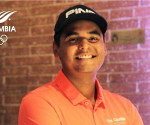 Juan Sebastián Muñoz, golfista colombiano.