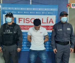 Hombre capturado en Ibagué.