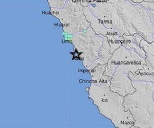 Lugar donde se presentó el sismo.