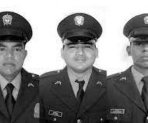 Policías asesinados en Pailitas, Cesar.