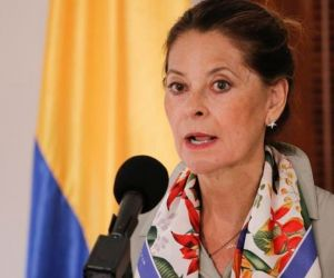 Vicepresidenta y canciller, Marta Lucía Ramírez.