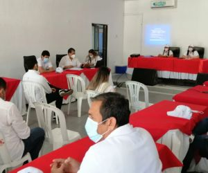 Este jueves se llevó a cabo una sesión descentralizada en el municipio de Fundación.