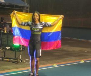 La samaria Kerstinck Sarmiento Anchila conquistó su sexto boleto en línea a un Mundial.