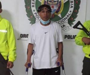 Carlos Daniel Morales Mejía, alias 'Carlos muleta' o 'Diente