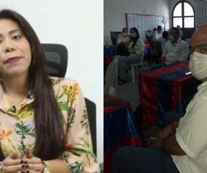 El alcalde dijo que la secretaria de Salud del Magdalena le está faltando el respeto a los familiares de las víctimas.