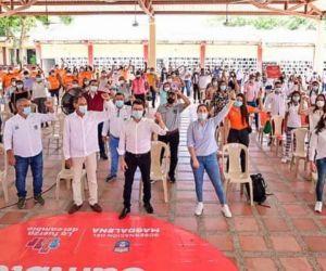 Presuntamente los contratistas son obligados a asistir a los eventos de Caicedo.