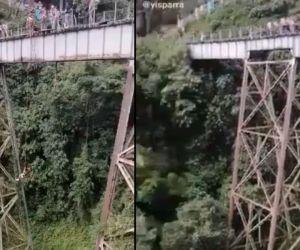 El puente esta ubicado al suroeste del departamento de Antioquia