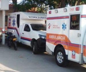 La joven afirmó que en el hospital no quisieron prestarle el servicio de ambulancia.