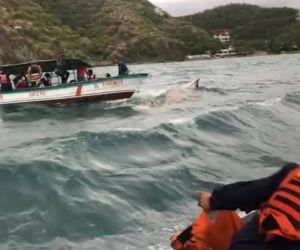 Rescate entre El Rodadero y Playa Blanca.