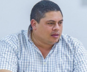 José David Cura Buelvas, alcalde de Montelíbano, Córdoba.