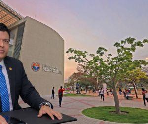 El rector Pablo Vera Salazar hizo un llamado a la reflexión al gobernador del Magdalena.