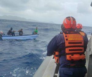 Rescate de los pescadores en Providencia.