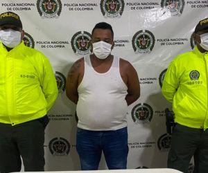 El capturado fue identificado como José Luis Alvarado, alias 'Solepio'.