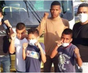 Estos boxeadores son parte del futuro del deporte de Fundación.