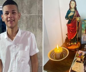 Con oración piden el pronto regreso de Jean Pierre Palacio.
