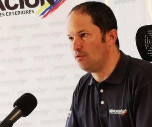 Director de Migración Colombia.