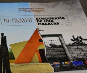 Libro 'El Playón de Orozco, etnografía de una masacre'.
