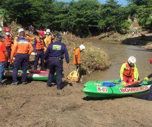 Acciones de búsqueda seguirán sobre el río Manzanares.