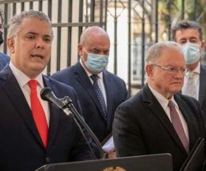 Eduardo Stein, enviado especial del Secretario General de las Naciones Unidas para los refugiados y migrantes venezolanos en América Latina, destacó los avances de Colombia.