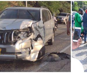 El accidente se presentó en la tarde de este viernes, en el Ziruma.