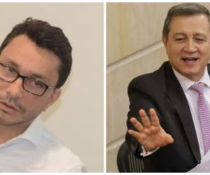 Carlos Caicedo y Ernesto Macías discutieron por Twitter.