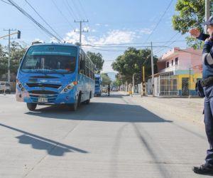 Calle 30 en Santa Marta.