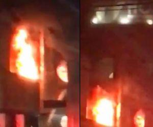 Incendio en el Hospital de Villavicencio.