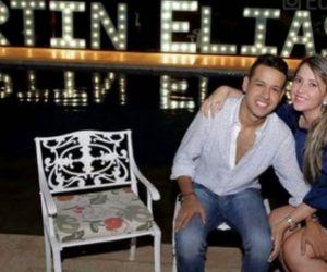 Martín Elias junto con Dayana Jaimes