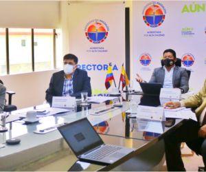 La reunión se llevó a cabo de manera virtual.