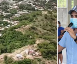 El alcalde propone la construcción de un mirador turístico.