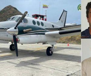 Juan Camilo Cadena Botero y Harold Darío Rivera Toledo, piloto y copiloto, respectivamente.