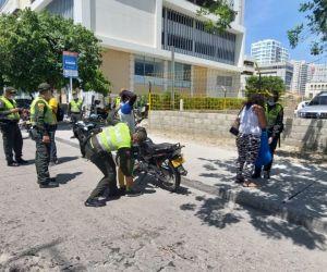 Balance de la Policía durante el fin de semana.