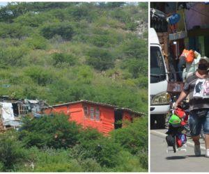 La realidad samaria es de pobreza absoluta.